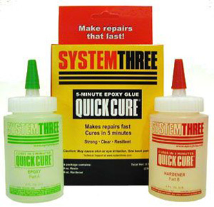 System Three Quick Cure Epoxy 165041