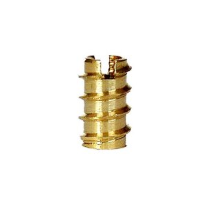 Brass Threaded Inserts - Pack of 10