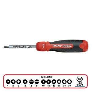 MegaPro 13-in-1 Ratchet Screwdriver 162204