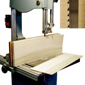 band saw wood