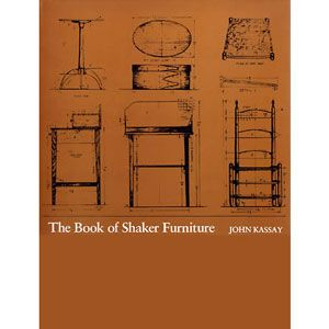 Book of Shaker Furniture by John Kassay 200522