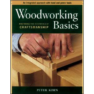 Woodworking Basics Peter Korn 202270