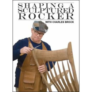 shaping a sculptured rocker