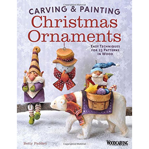 Carving and Painting Christmas Ornaments
