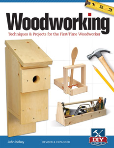 Woodworking - Techniques & Projects For The First-Time Woodworker