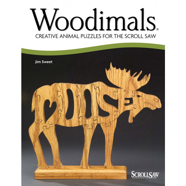 Woodimals - Creative Animal Puzzles for the Scroll Saw | Scroll Saw Puzzle Books