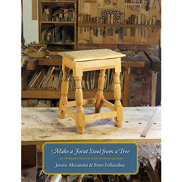 Make A Joint Stool From A Tree - An Introduction To 17th-Century Joinery 204715