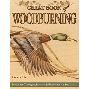 Great Book Of Woodburning 203664