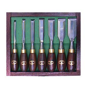 Crown Butt Chisel Set 7pc 122362