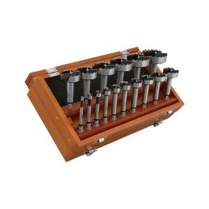 Boxed Set of 16 Steelex Forstner Bits 173573