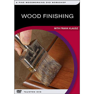 Wood Finishing with Frank Klausz DVD 220219