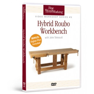 Hybrid Roubo Workbench / Video Workshop Series #9 DVD  220489