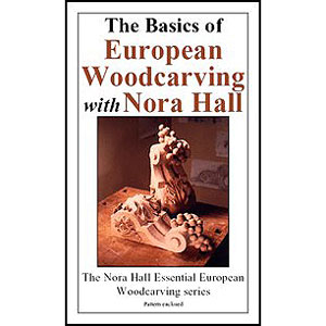 Basics Of European Woodcarving / DVD 220601