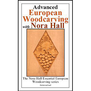 Advanced European Woodcarving by Nora Hall 220603