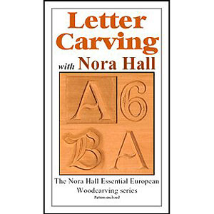 Letter Carving with Nora Hall DVD 220604