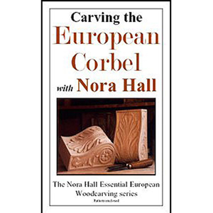 Carving The European Corbel with Nora Hall  220606