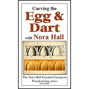Carving The Egg and Dart with Nora Hall 220608