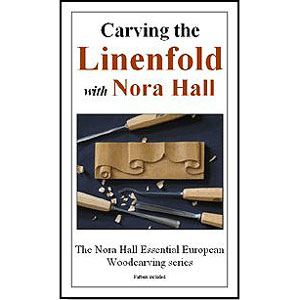 Carving The Linenfold with Nora Hall 220609