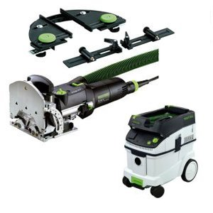 Festool DF 500 Q Domino Joiner Set w/ CT36 Vacuum 720149