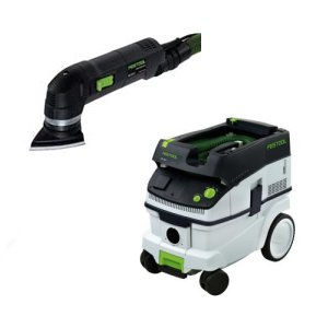 Festool DX 93 E Deltex Sander w/ CT 26 E HEPA Dust Extractor 720725
