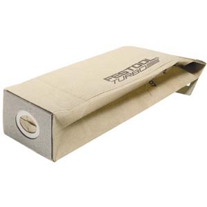 Festool Dust Bags for 6 in. Sanders, Pk/5 720405