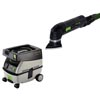 Festool DX 93 E Deltex Sander w/ CT Mini Vac 720650