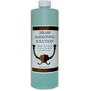 Brass Darkening Solution, 32 oz. 179203