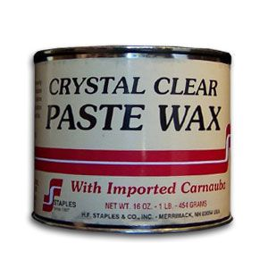 Staples Clear Wax with Carnauba 194151