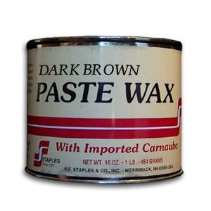 Staples Dark Brown Wax with Carnauba 194152