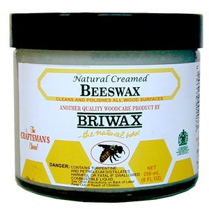 Briwax Natural Creamed Beeswax 194982
