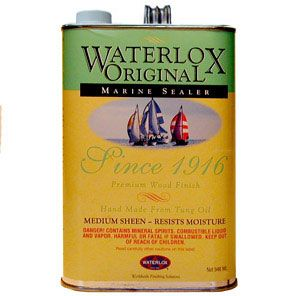 Waterlox Original Marine Sealer Gallon 195414