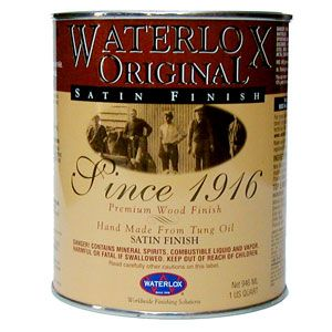 Waterlox Original Satin - Quart 195408 195456