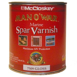 McCloskey Gloss Marine Spar Varnish Gallon 195923