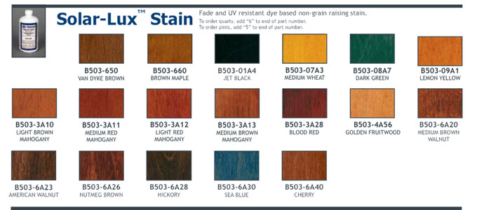 Solar-Lux NGR Stain