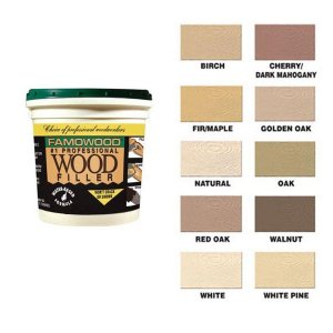 Famowood Wood Filler Solvent-Free - 1/4 Pint