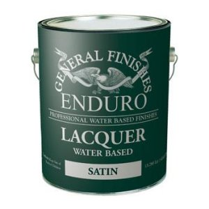 General Finishes Water Based Lacquer - Gallon