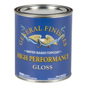 General Finishes High Performance Polyurethane Topcoat - Pint
