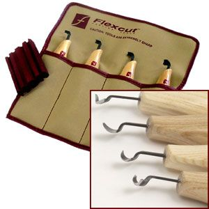 Flexcut Right Handed Scorp Set 125232