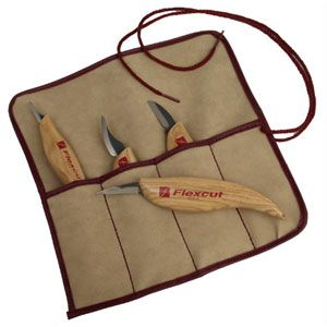 Flexcut Set of 4 Craving Knives 125422