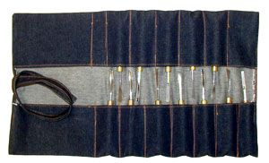 Denim Carving Tool Roll 126412