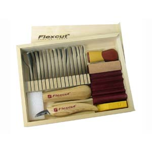 Flexcut SK108 16-Piece Starter Craving Set 125299
