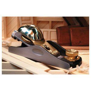 Lie Nielsen Standard Angle Adjustable Mouth Block Plane 434256