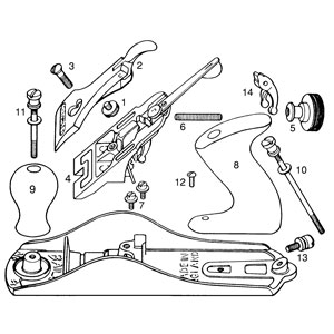 hand plane parts