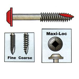 Kreg Pocket-Hole Fine Thread Screws - Box of 500