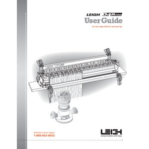 New Leigh D4R Manual 105414