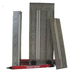 Incra Rule Set 6 in, 12 in, 18 in 48537