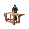Roubo Bench with Benchcrafted Vises Plan 204226