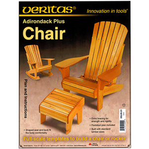 Adirondack Chair/Rocker & Footstool Plan