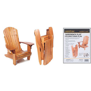Adirondack Folding Chair Plan