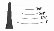 Flexcut No.3 Power Chisel Blade 1 in.  125036